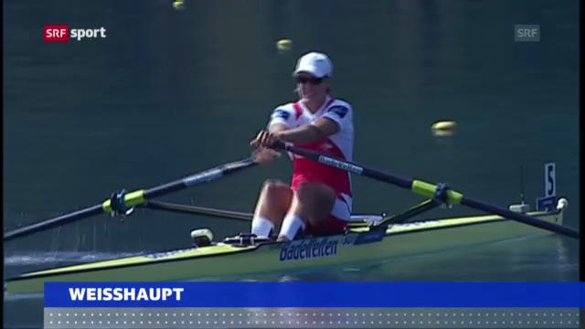 Topruderin Pamela Weisshaupt tritt zurück («sportaktuell»)
