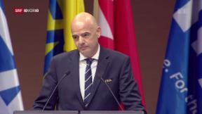 Video «Fifa-Chef stellt Ethik-Kommission auf den Kopf» abspielen