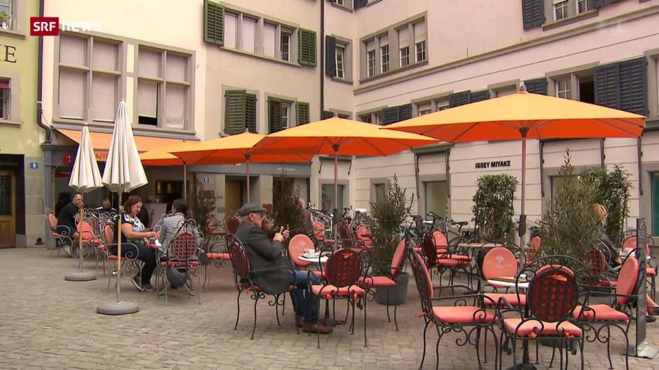 Restaurants wollen zusätzlichen Aussenraum behalten
