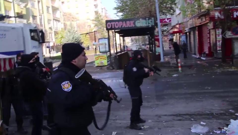 Einsatz gegen PKK in Diyarbakir (unkomm.)