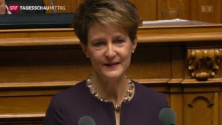Video «Neue Bundespräsidentin» abspielen