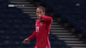 Video «Minisieg für Costa Rica in Glasgow» abspielen