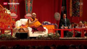 Video «Dalai Lama in Freiburg» abspielen