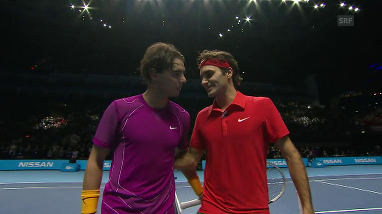 Der London-Final zwischen Federer und Nadal 2010