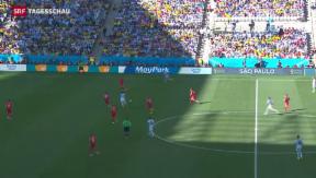 Video «WM-Achtelfinal Schweiz gegen Argentinien» abspielen