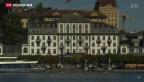 Video «Guter Sommer für Schweizer Hotels» abspielen