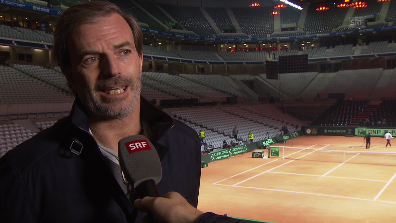 Tennis: Interview mit Heinz Günthardt