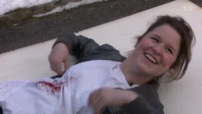 Video «Sterben ist ihr Beruf: Stuntfrau Bettina Stucki» abspielen