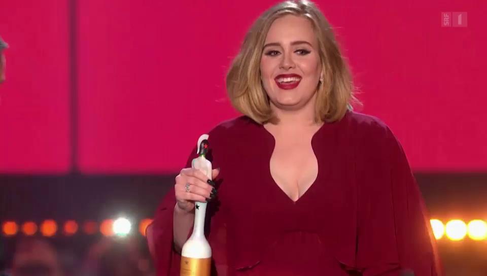 Triumph: Adele gewinnt vier «Brit Awards»