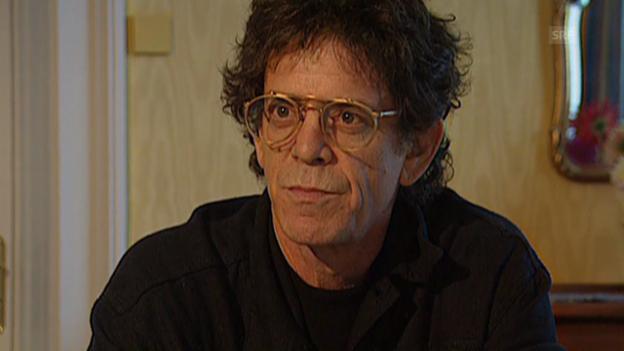 Video «Lou Reed über «Set the Twilight Reeling» (10vor10 vom 25.07.1996)» abspielen