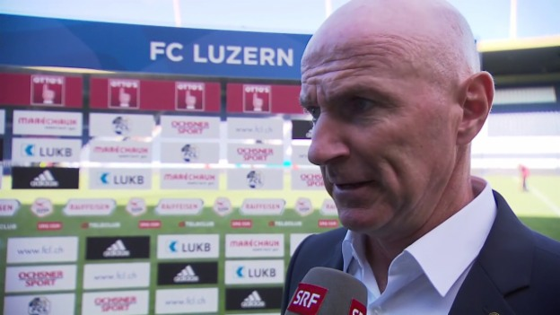 Video «Die Trainer Bernegger und Babbel im Interview» abspielen
