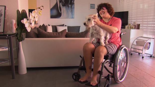 Video «Luana Montanaro ist immer noch sportbegeistert» abspielen