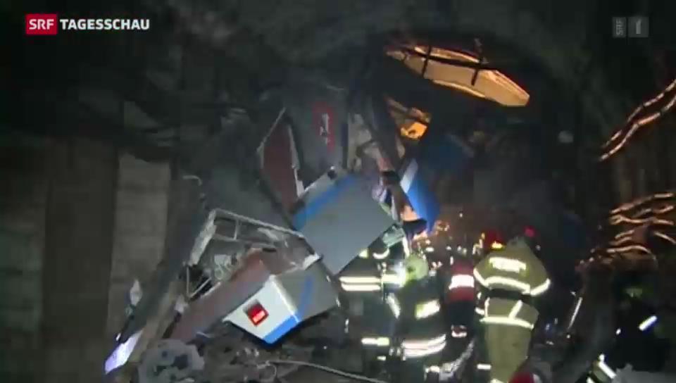 U-Bahn-Unglück in Moskau