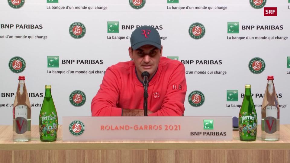 Federer declera pertge forsa forfait