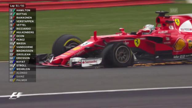 Video «Die packende Schlussrunde von Silverstone» abspielen