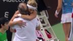 Video «Bacsinszky behält gegen Mladenovic die Oberhand» abspielen