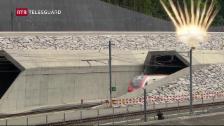 Laschar ir video «In di istoric - impressiuns da la festa d'avertura dal tunnel da basa dal Gottard»