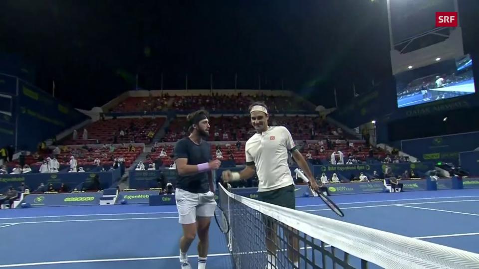 Basilaschwili fraina il comeback da Federer