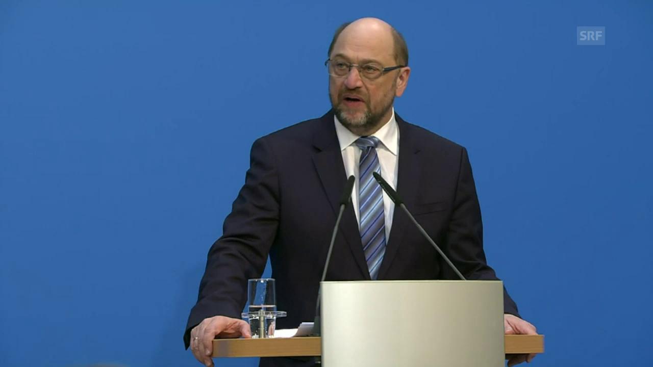 Schulz: «Vertrag hat vielen viel abverlangt»
