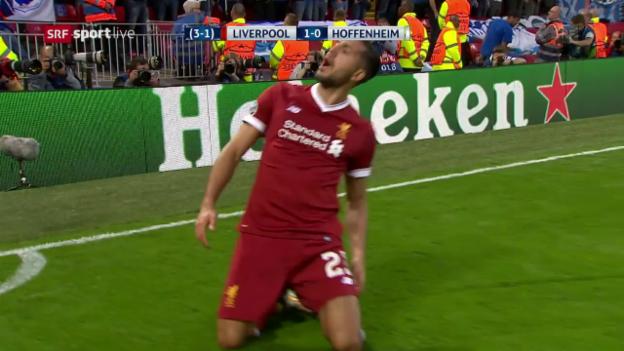 Video «Liverpool setzt sich gegen Hoffenheim durch» abspielen