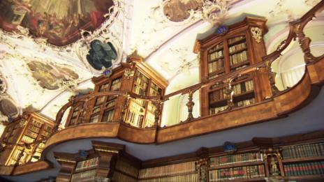 Link öffnet eine Lightbox. Video Ältester Klosterplan in St. Gallen abspielen