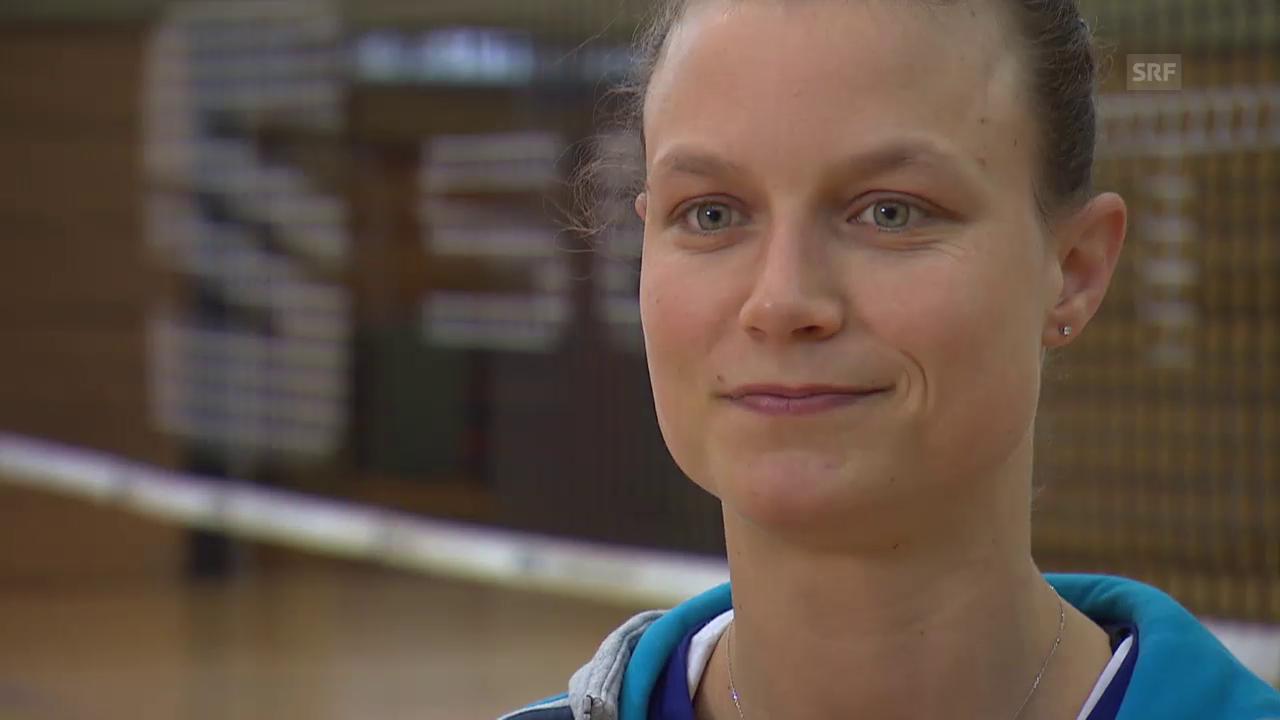 Volleyball: Voleros Courtney Thompson im Interview