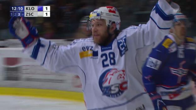 Video «Eishockey: Playoff-Final Kloten - ZSC Lions, Die Highlights» abspielen