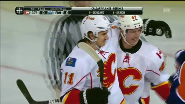 Eishockey: Sven Bärtschis Skorerpunkte gegen Edmonton