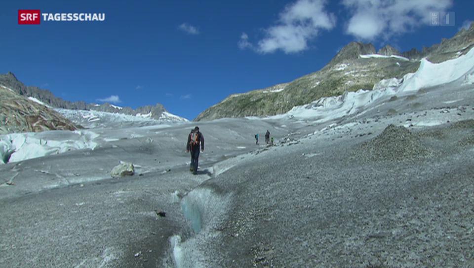 Gletscherschmelze auf Rekordhoch