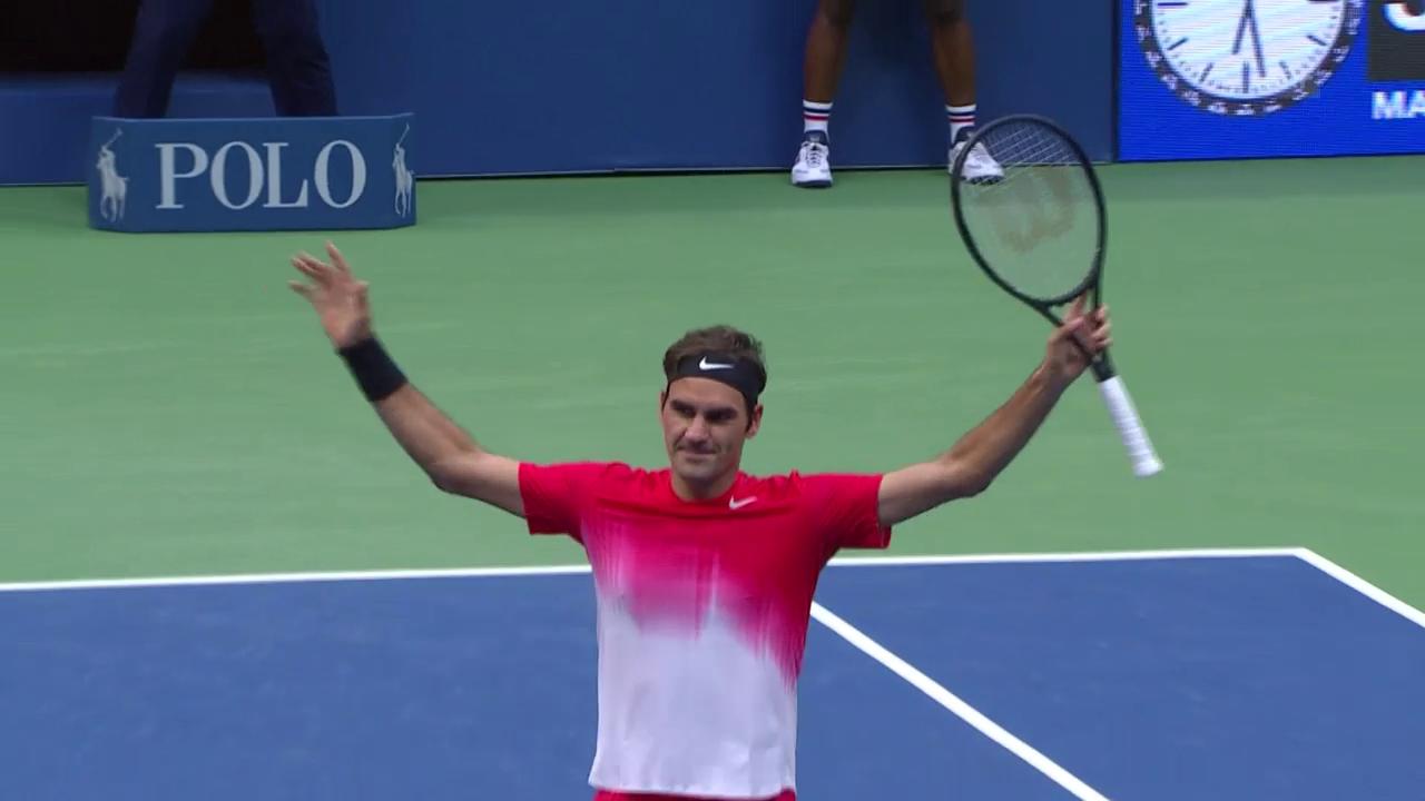 Die Live-Highlights bei Federer-Juschni