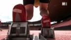 Video ««Einstein» sprintet gegen Usain Bolt» abspielen