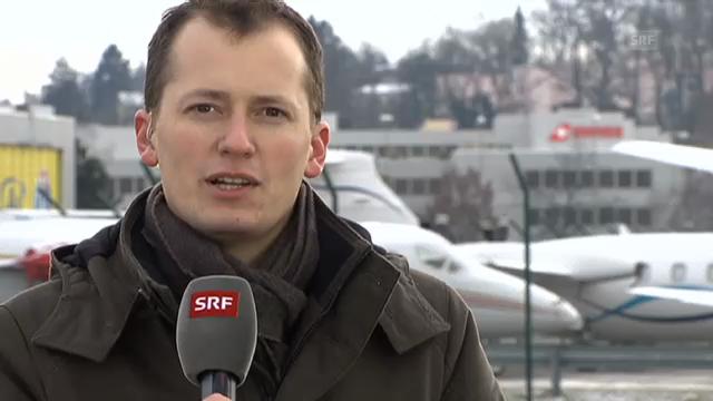 Michael Weinmann zu den Folgen des Skyguide-Alarms