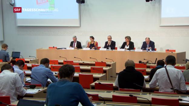 Video «Kontra Komitee findet «Grüne Wirtschaft» Initiative zu radikal» abspielen