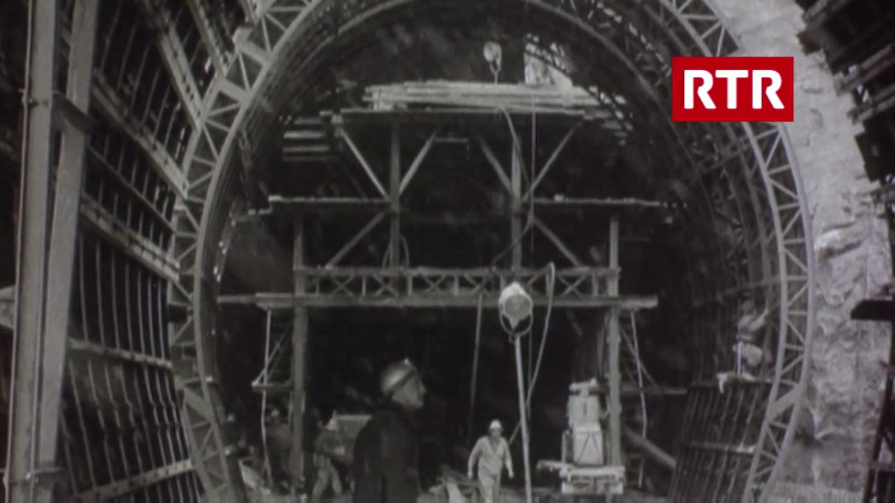 Las lavurs per il tunnel (Filmwochenschau, 30.11.1962)