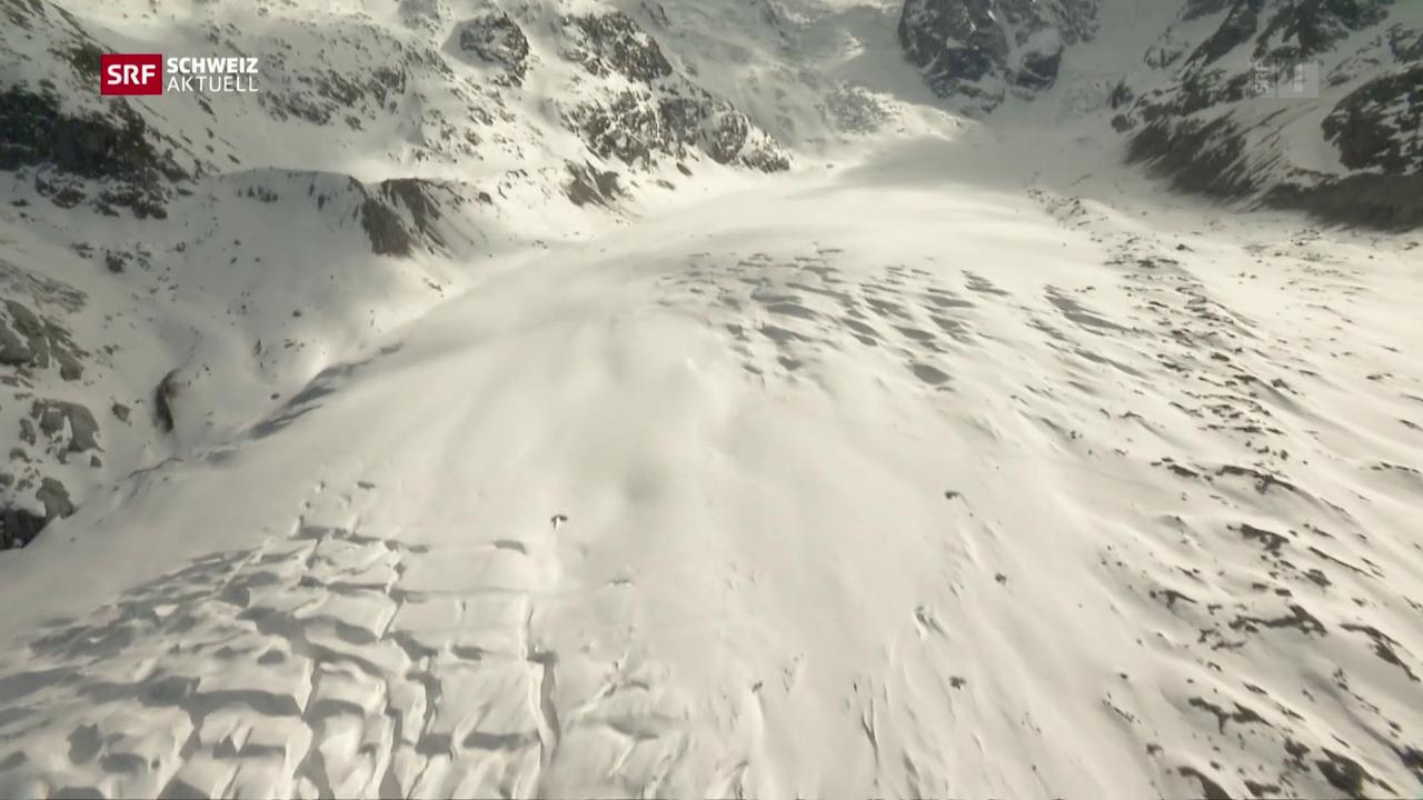 Kunstschnee soll Gletscherschwund stoppen