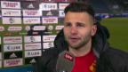 Video «Steffen: «Habe im Training hart an mir gearbeitet»» abspielen