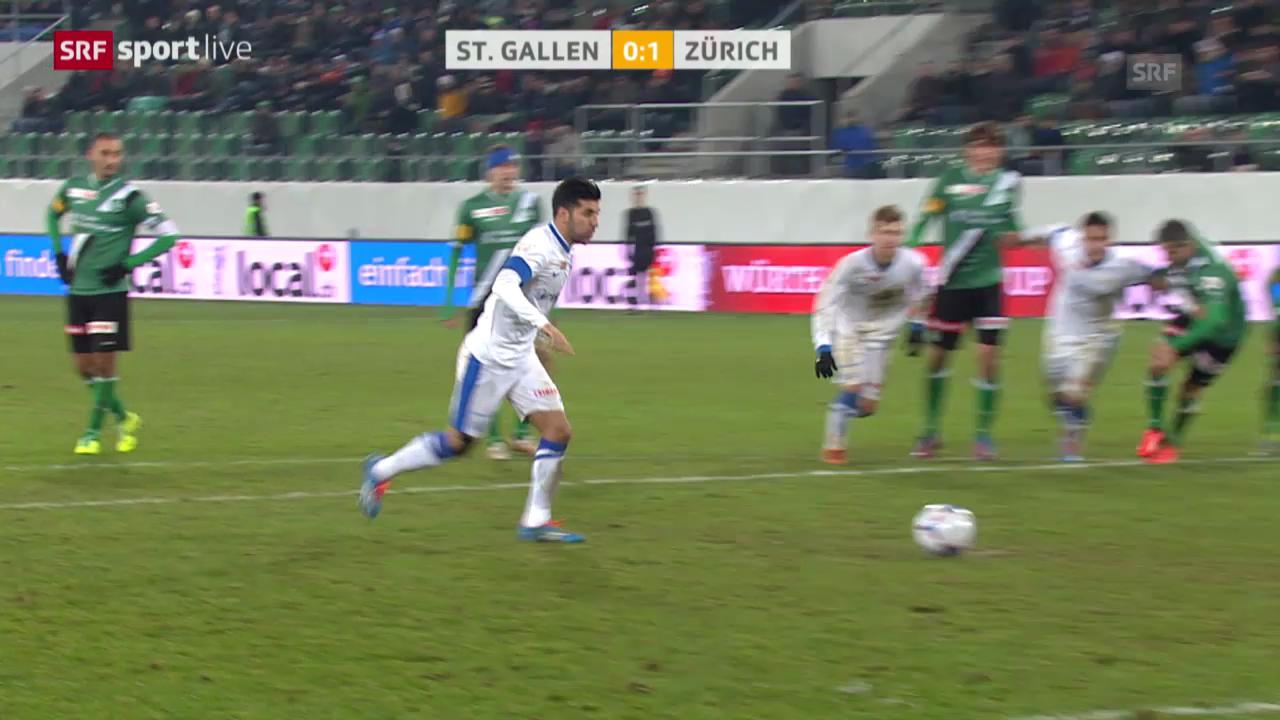 Fussball: Cup-Viertelfinal, St. Gallen - FC Zürich («sportlive»)