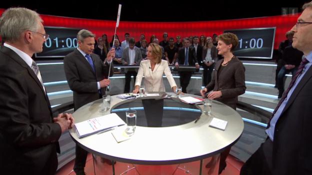 Video «Abstimmungs-Arena: Volksinitiative «Gegen Masseneinwanderung»» abspielen