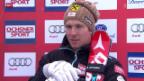Video «Ski alpin: Super-G Männer in Beaver Creek» abspielen