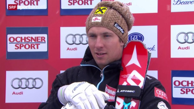 Video «Ski alpin: Super-G Männer in Beaver Creek» abspielen