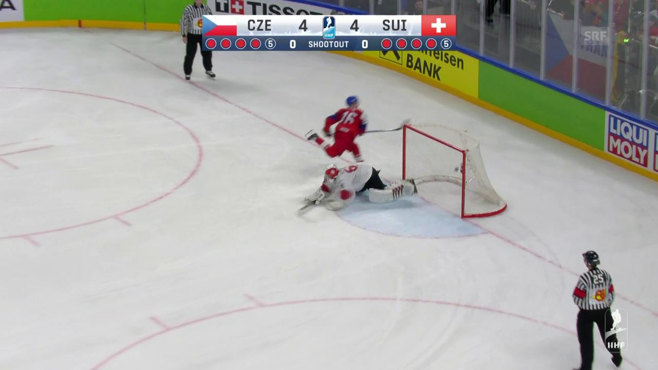 Die Live-Highlights bei Schweiz - Tschechien