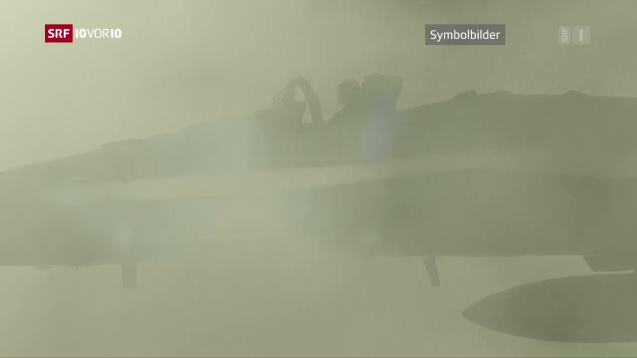Kommunikationsprobleme vor dem F/A-18-Absturz