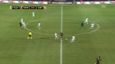 Video «Das 0:1 – der FCZ lässt sich klassisch auskontern» abspielen
