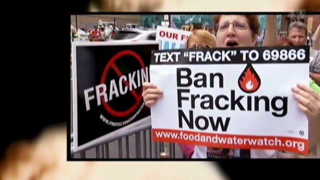 Video «Angst-Thema «Fracking»» abspielen