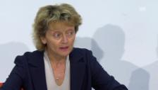 Video «Eveline Widmer-Schlumpf: «Zufrieden mit dem Entscheid»» abspielen