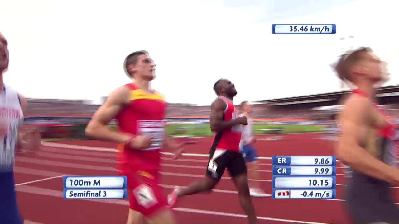 Wilson scheitert im 100-m-Halbfinal