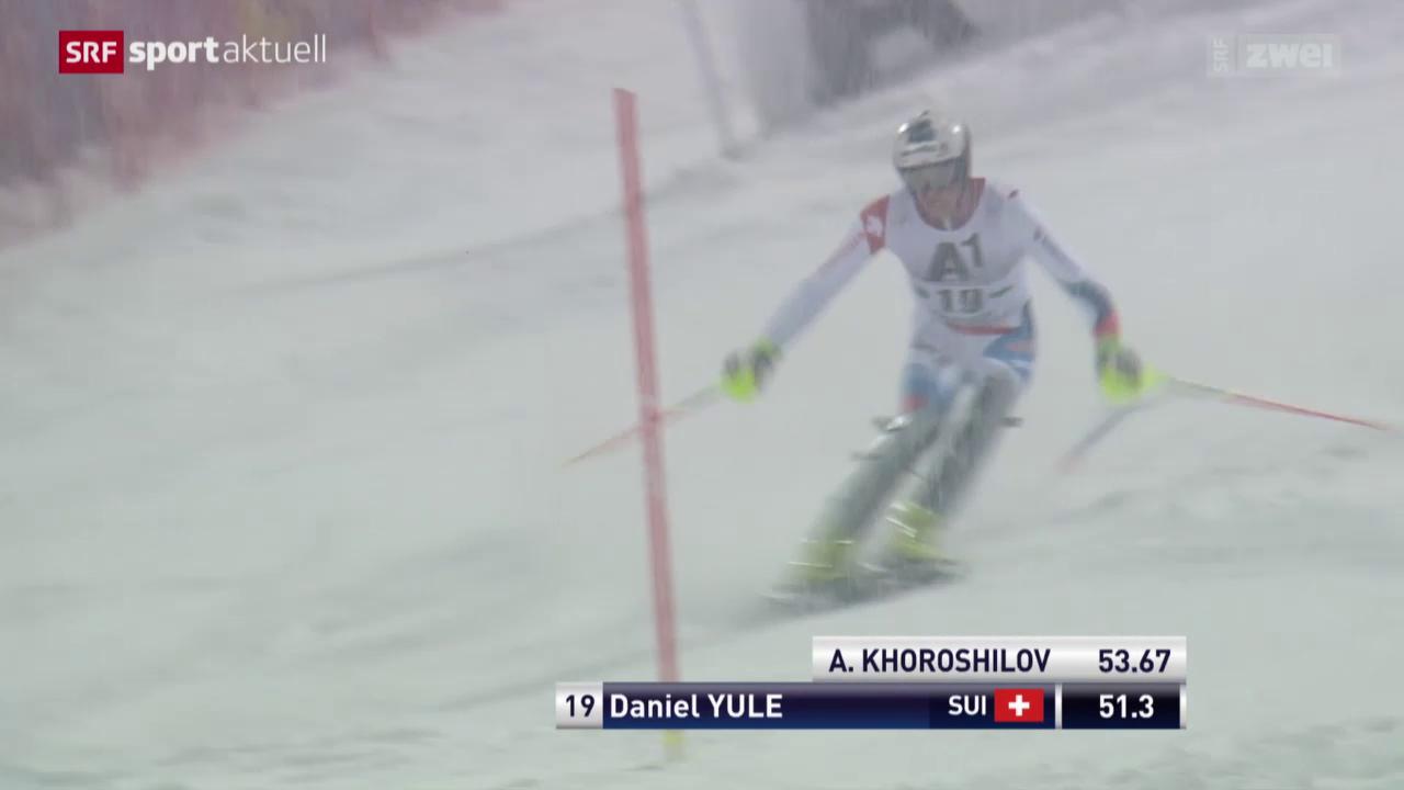 Ski Alpin: Slalom Männer in Schladming