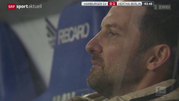 Video «Fussball: Bundesliga, HSV - Hertha BSC» abspielen