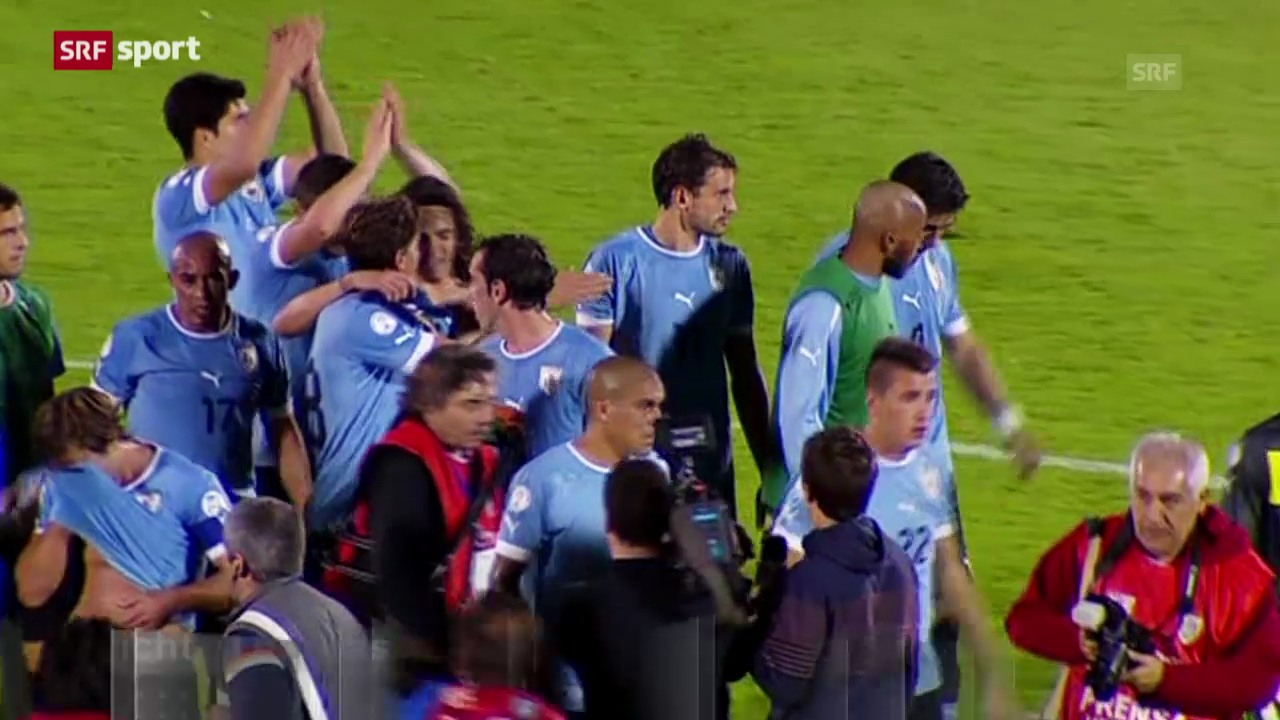 Uruguay muss in die Barrage («sportaktuell»)
