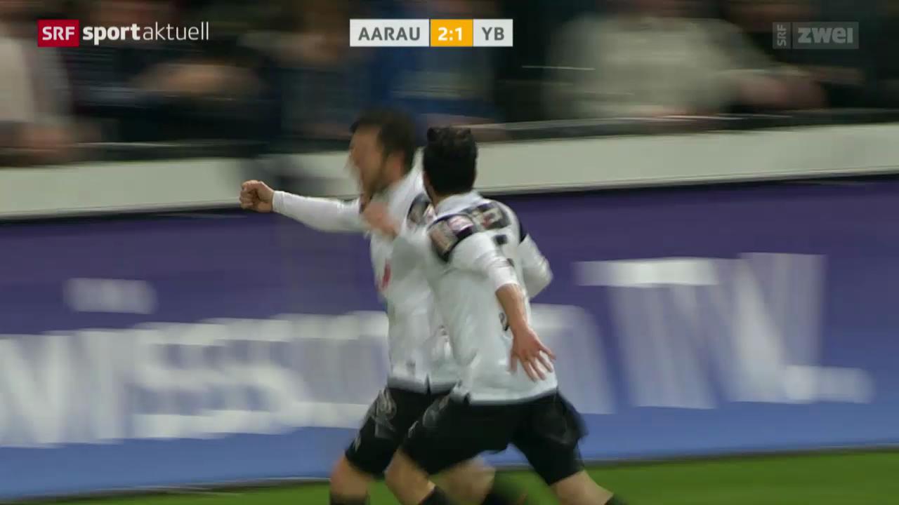 Fussball: Aarau - YB